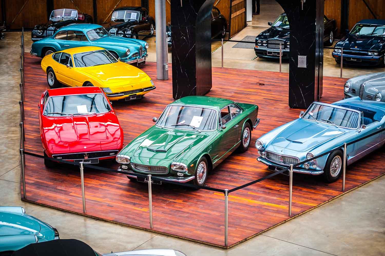Classic Remise Düsseldorf Ausstellungsfläche