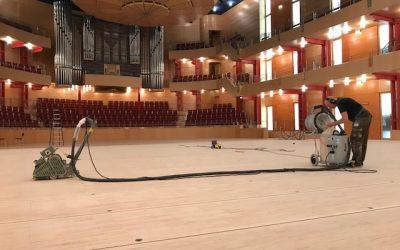 Bühnenboden Sanierung Rheinland Ruhrgebiet