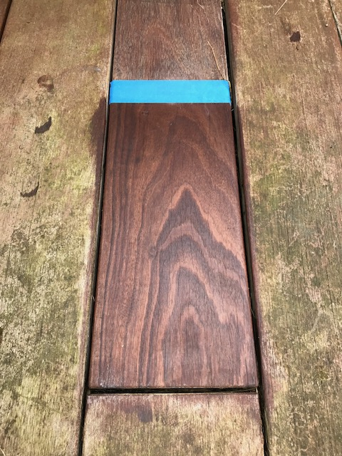 Holzterrassen-Reinigung