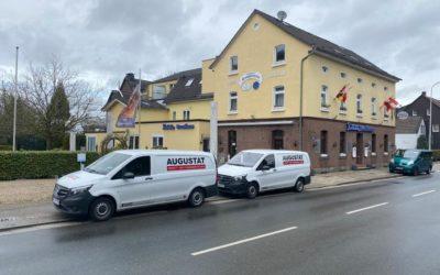 Dielenboden — Sanierung im Hotel Landhaus Knappmann in Essen — Kettwig
